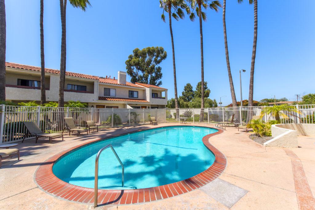 Park Plaza pool area in Torrance CA