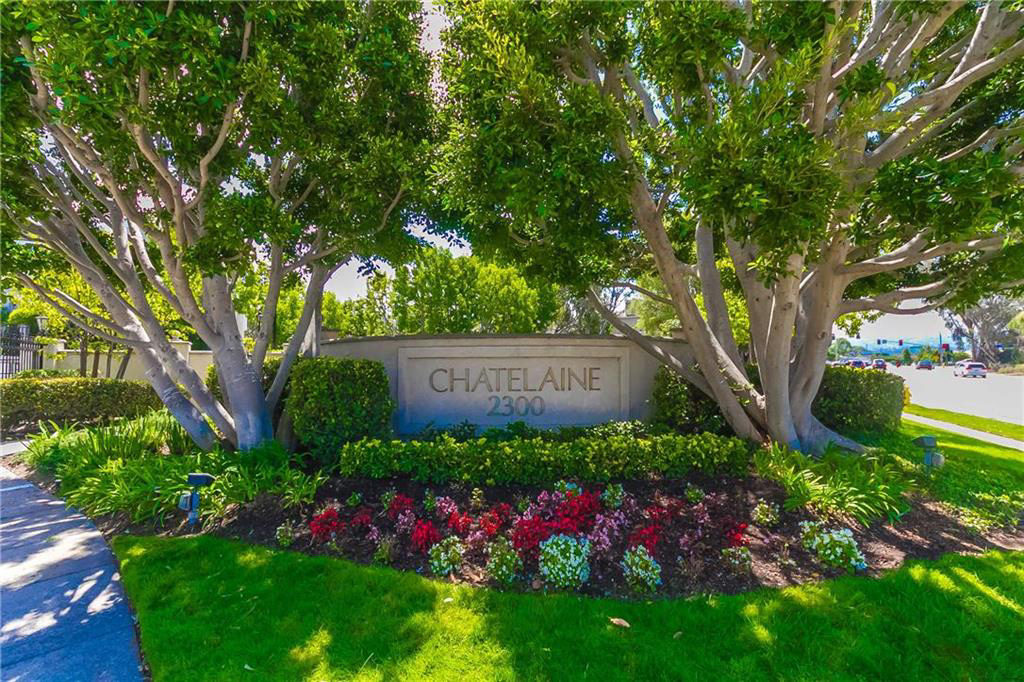the homes of Chatelaine in the Plaza Del Amo area of Torrance